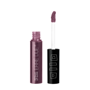 ERRE DUE Metallic Lip Gloss No543 Plum 8g