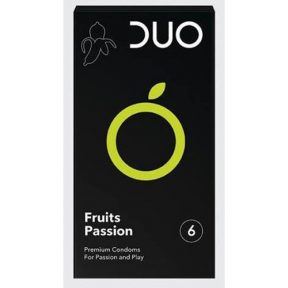 DUO FLAVOURED Fruits Passion 6τμχ