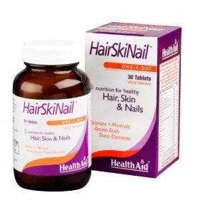 HEALTH AID HairSkiNail 30 TABS