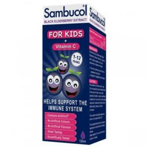 SAMBUCOL FOR KIDS+Vitamin C 120ml