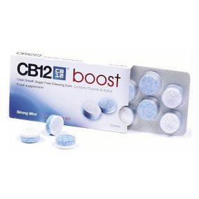 CB12 Boost Strong Mint 10τσίχλες