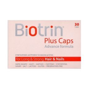 BIOTRIN PLUS CAPS ADVANCE FORMULA 30CAPS