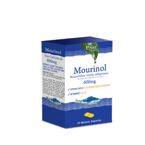 POWER HEALTH Mourinol 600mg 60softcaps
