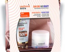 Panthenol Extra Promo Sun Care Color SPF50 50ml & Δώρο Face And Eye Cream 50ml