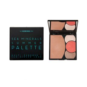 Korres Sea Minerals Summer Palette Multi-PurposeSun-Kissed Look Coral Sunsets 13 gr.